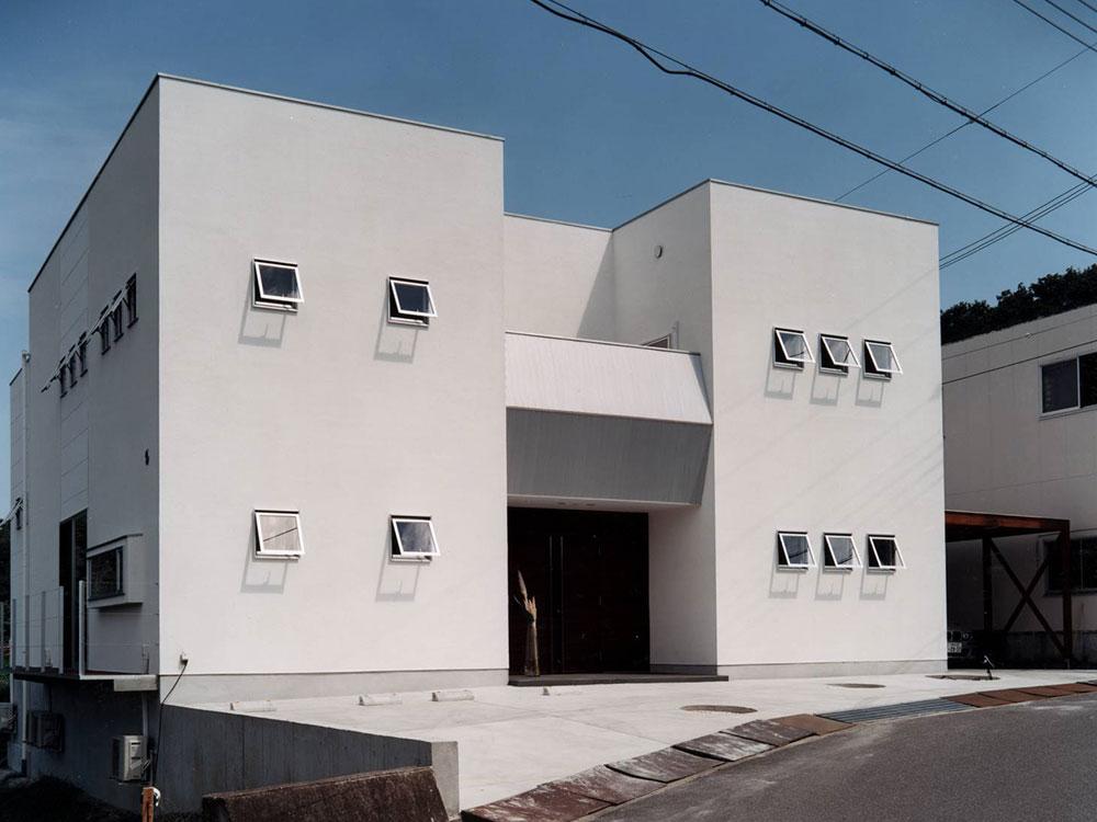 CASE27 開放感のあるシンプルモダン住宅