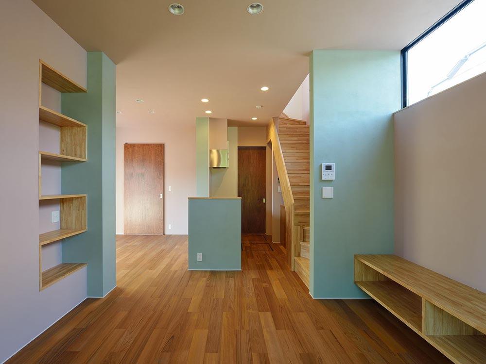 CASE281 色のあふれる家