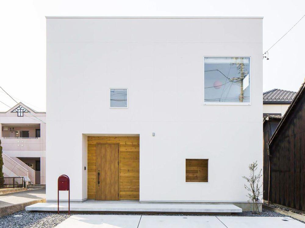 CASE348 壁の家