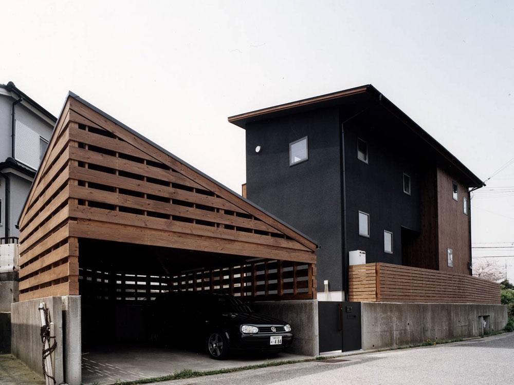 CASE39 明と暗が共存する住宅