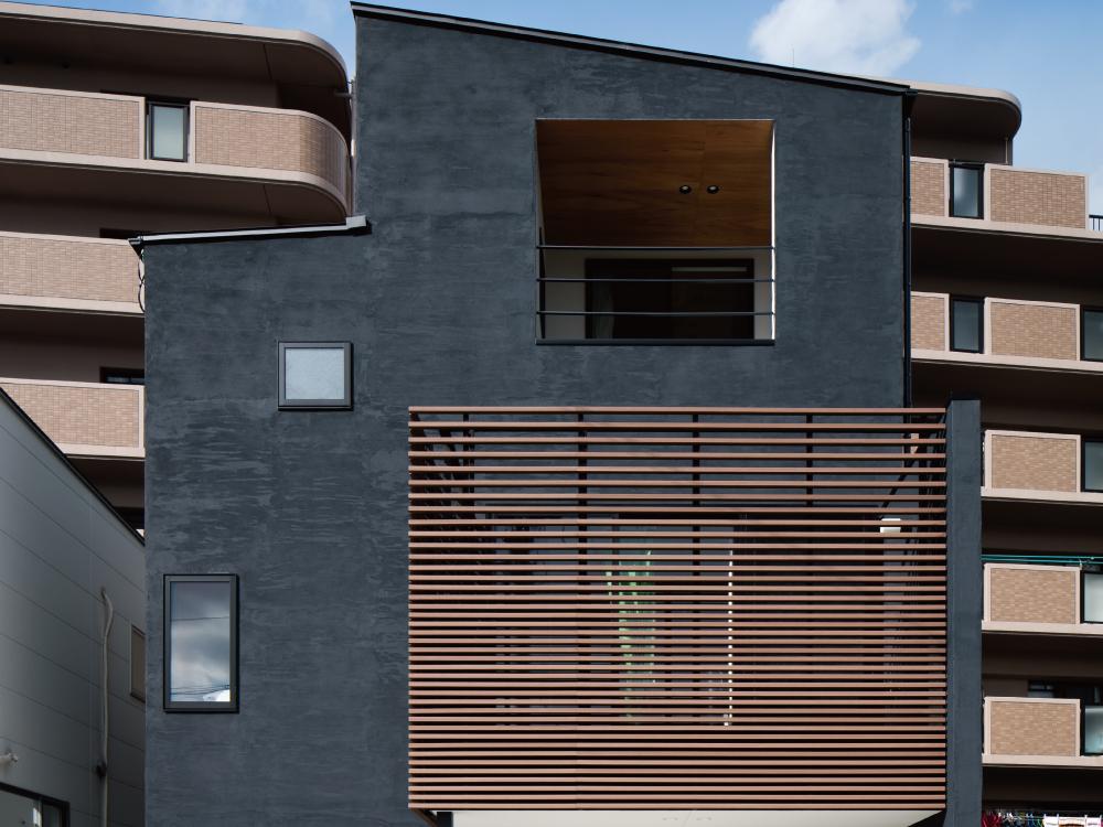CASE446 7層の住宅