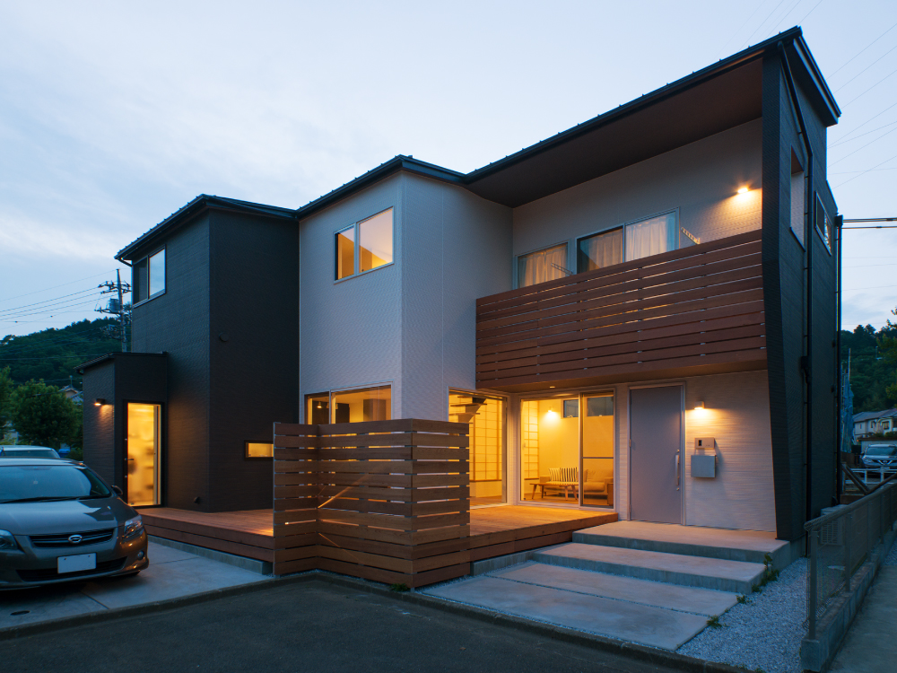 CASE575 緑を楽しむ家