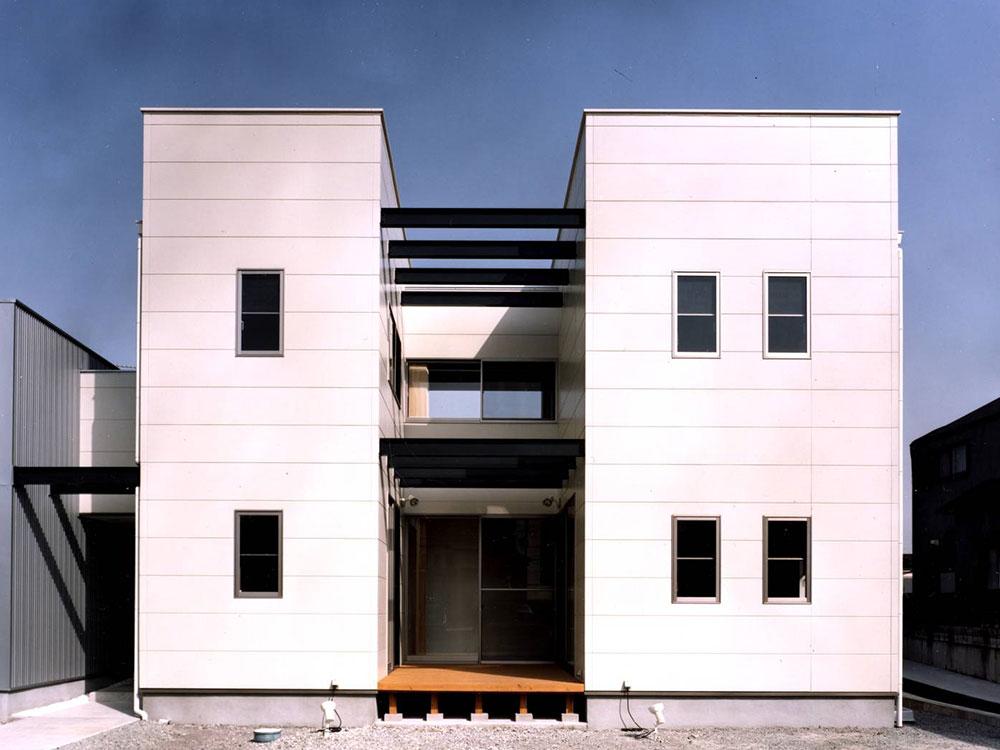 CASE58 モノトーンで構成したデザイナーズ住宅