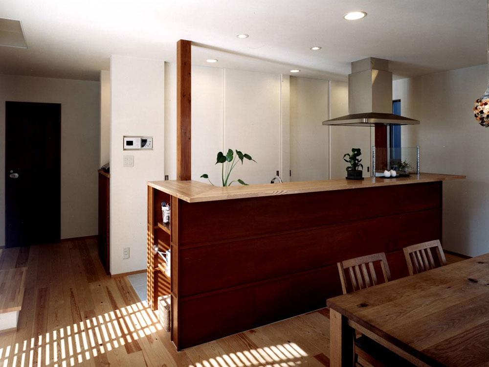CASE62 4層スキップの住宅