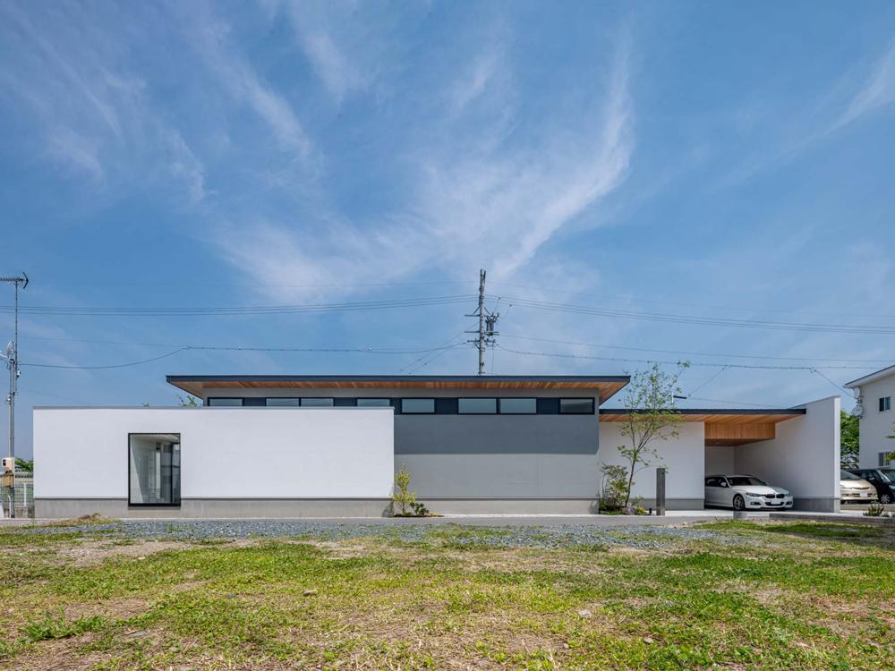 CASE686 桜並木の平屋