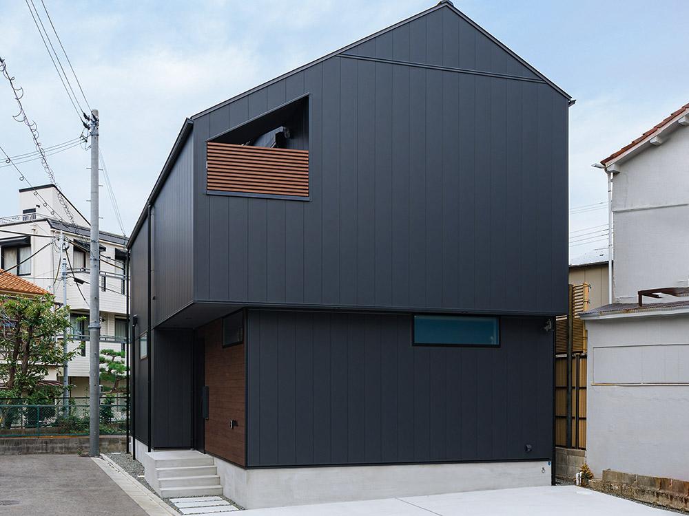 CASE715 トラス屋根の家
