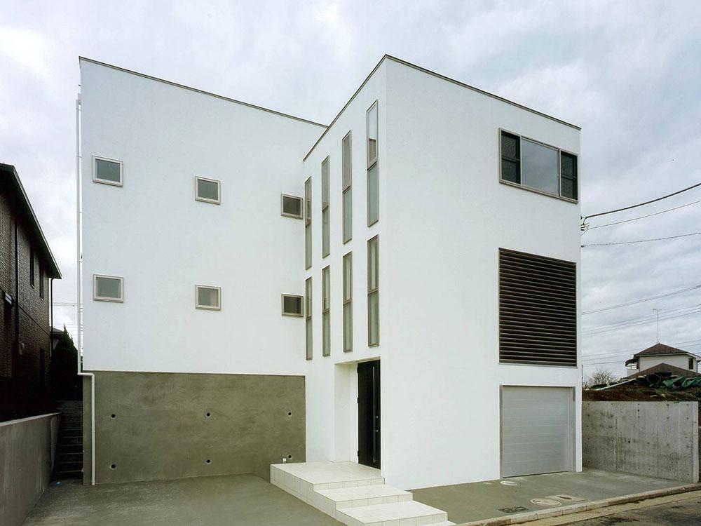 CASE72 シンプルな二世帯住宅