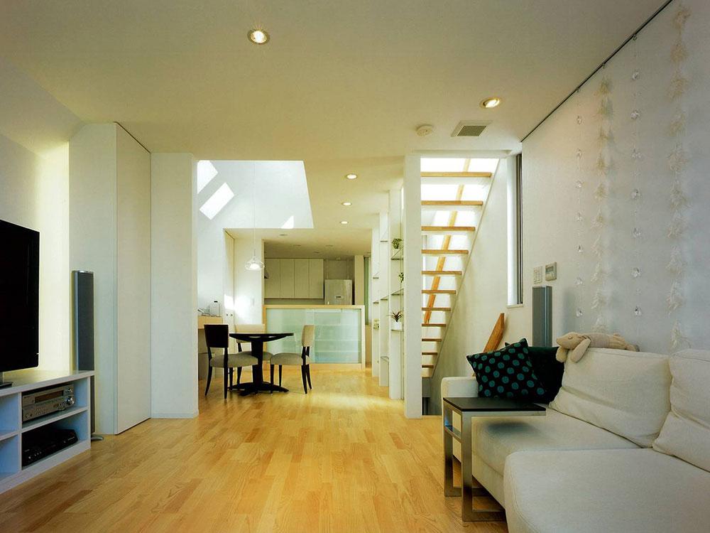 CASE74 光を捉える狭小住宅