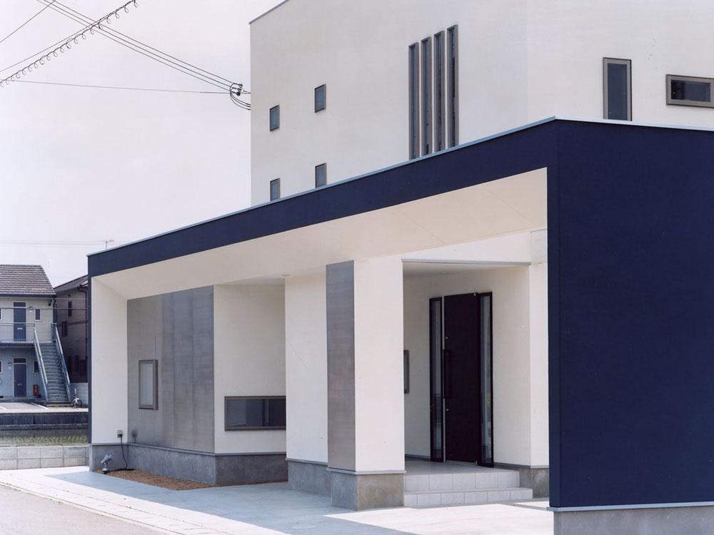 CASE89 開放感のあるシンプルな住宅