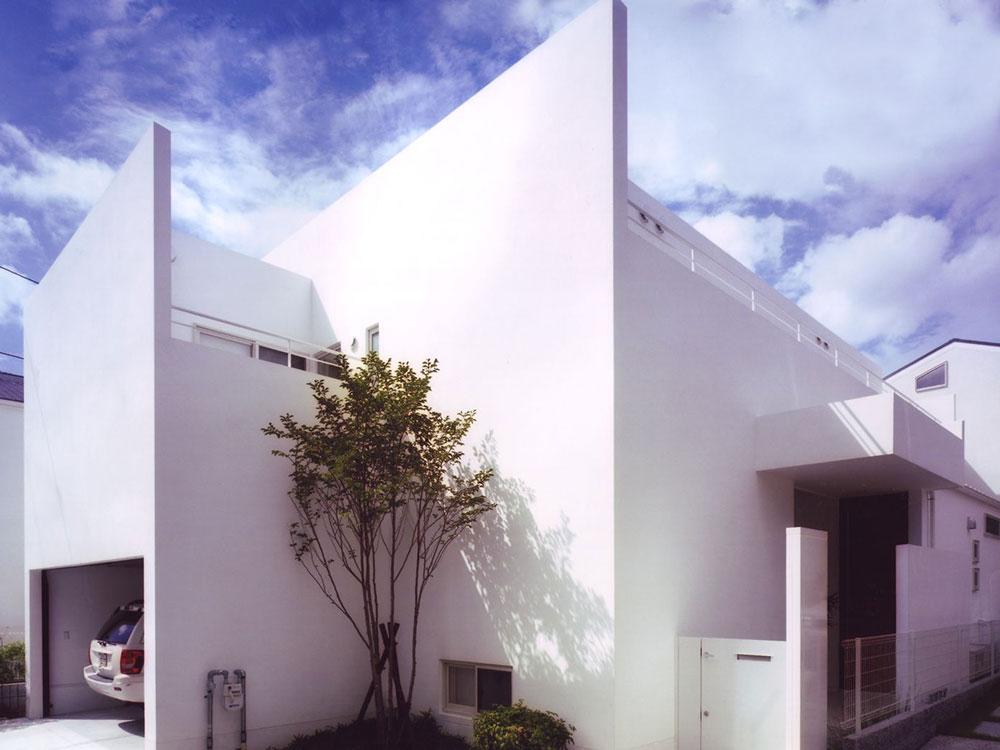 CASE94 白い箱の住宅