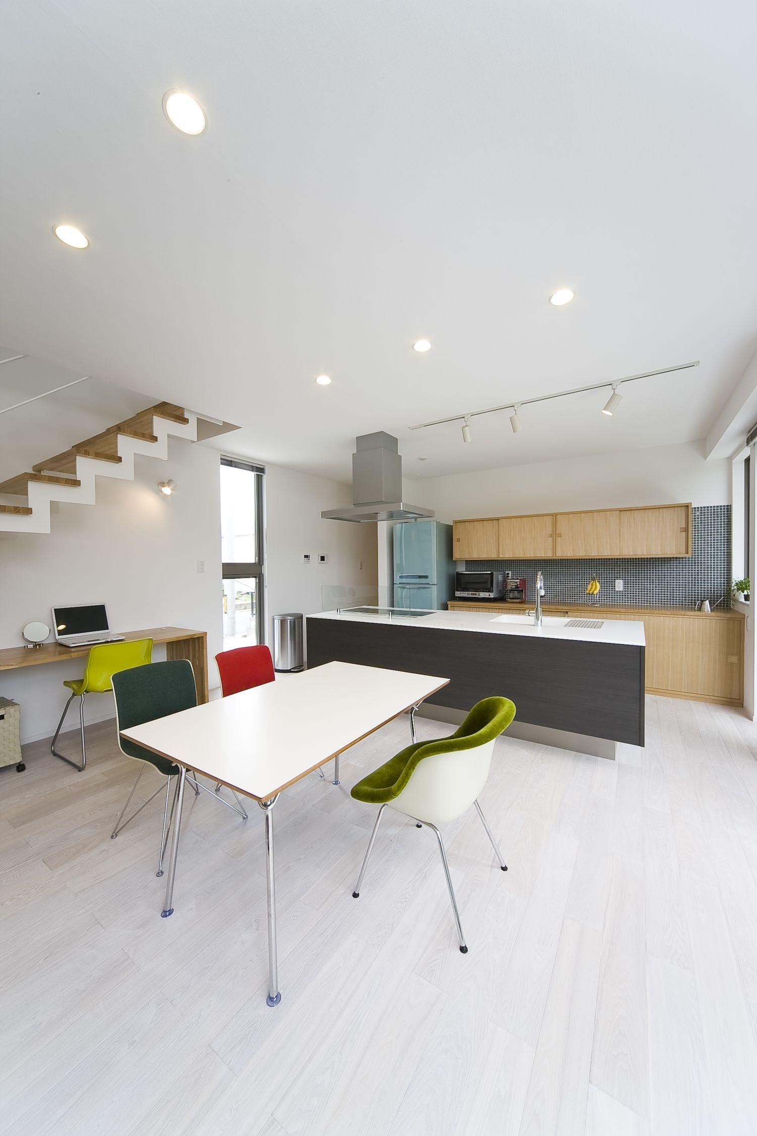注文住宅・デザイン住宅建築実例_LDK