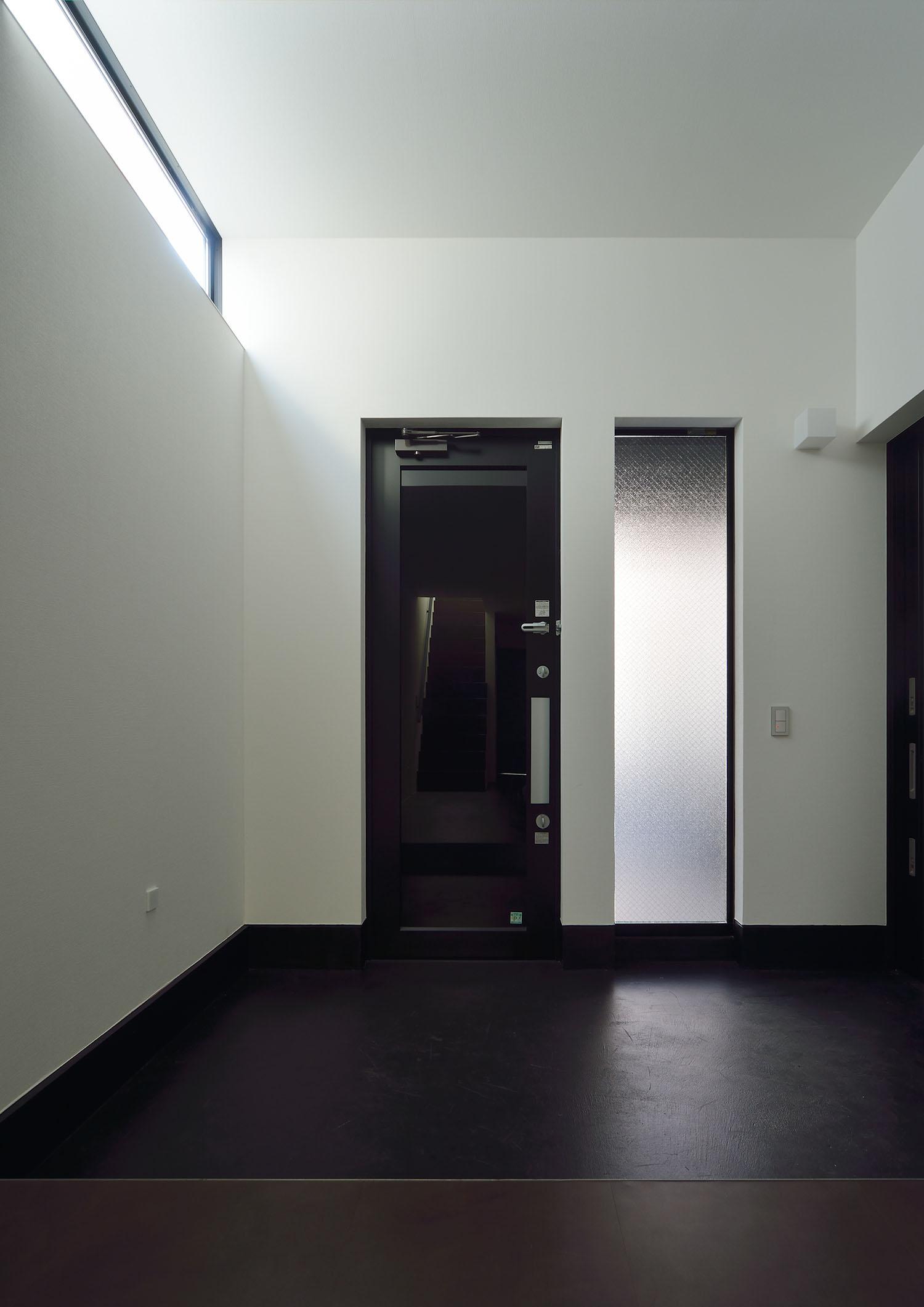 注文住宅・デザイン住宅建築実例_玄関