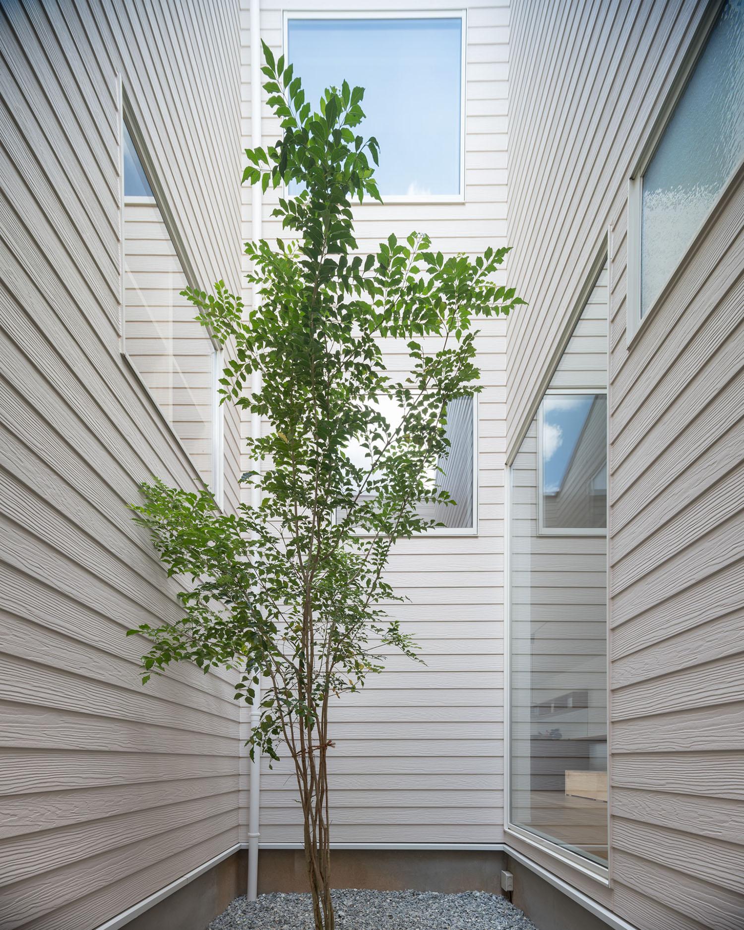 注文住宅・デザイン住宅建築実例_中庭