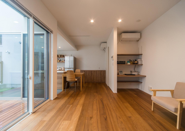 注文住宅・デザイン住宅建築実例_LDK注文住宅・デザイン住宅建築実例_LDK